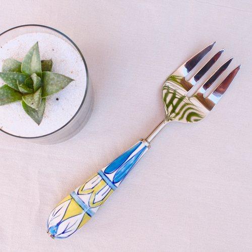 Ceramic Serving Fork