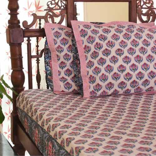 Floral Ocean Bedsheet Set
