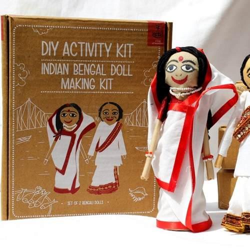 Bengali Doll Making Kit - DIY