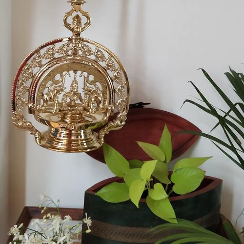 Lamp - Gajalakshmi Traditional Hanging Lamp