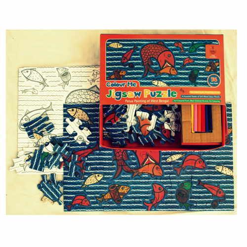 Colour Me Jigsaw Puzzle - Patua Painting
