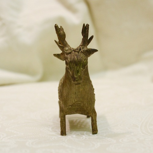 Dokhra Deer With Antlers