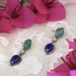 Onyx Lapis Lazuli Drops
