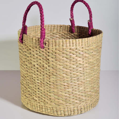 Big round reed basket