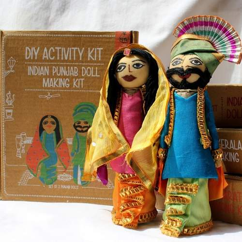 Punjabi Doll Making Kit - DIY