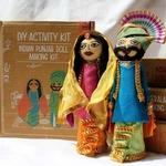 Punjabi Doll Making Kit - DIY