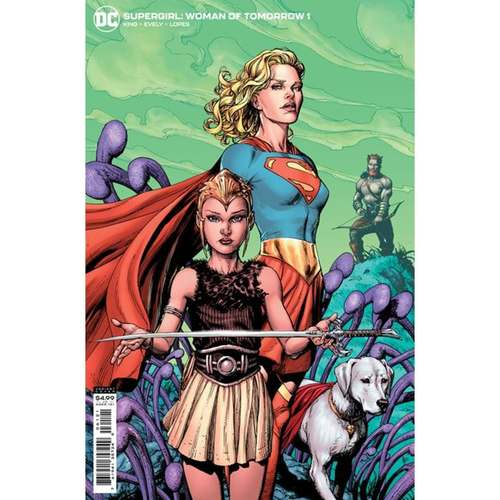 SUPERGIRL WOMAN OF TOMORROW #1 (OF 8) CVR B GARY FRANK VAR