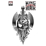 KING IN BLACK #1 (OF 5) BEDERMAN TATTOO VAR