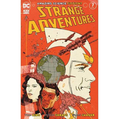 STRANGE ADVENTURES #7 (OF 12) CVR A MITCH GERADS (MR)