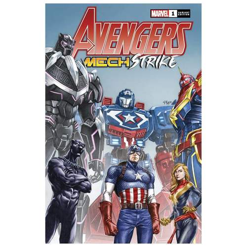 AVENGERS MECH STRIKE #1 (OF 5) SU VAR