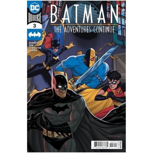 BATMAN THE ADVENTURES CONTINUE 3 OF 6 CVR A JOE QUINONES