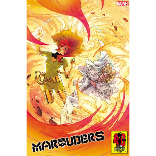 MARAUDERS 5 DANIEL DARK PHOENIX 40TH VAR DX