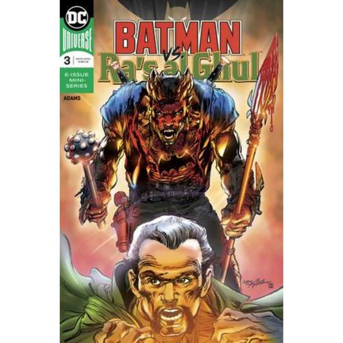 BATMAN VS RAS AL GHUL 3 OF 6