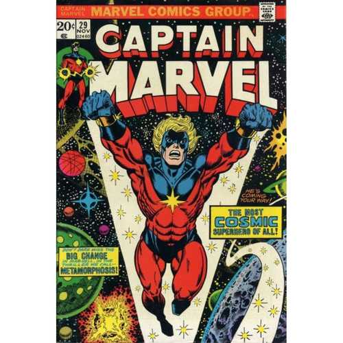 CAPTAIN MARVEL #29 (KEY ISSUE)