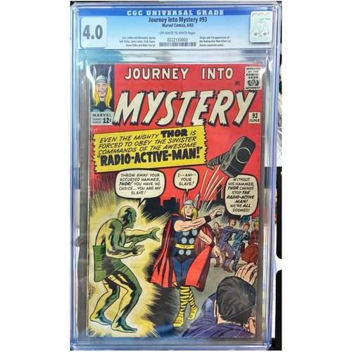 JOURNEY INTO MYSTERY #93 CGC 4.0