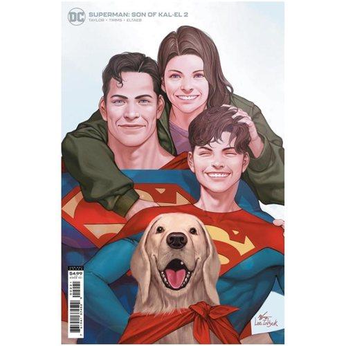 SUPERMAN SON OF KAL-EL #2 CVR B INHYUK LEE CARD STOCK VAR