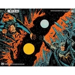 BATMAN SUPERMAN 2021 ANNUAL #1 CVR B FRANCESCO FRANCAVILLA CONNECTED FLIP CARD STOCK VAR