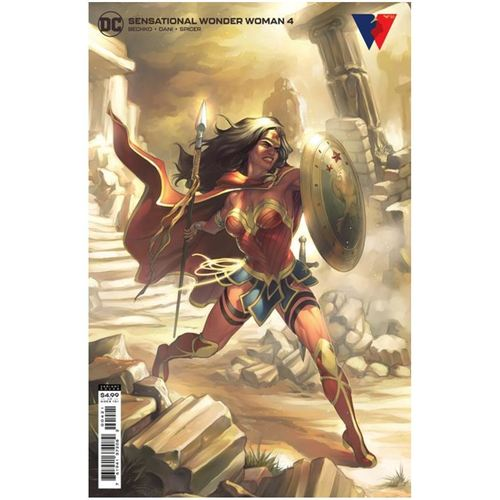SENSATIONAL WONDER WOMAN #4 CVR B MEGHAN HETRICK CARD STOCK VAR