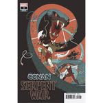 CONAN SERPENT WAR 3 OF 4 MARTIN VAR