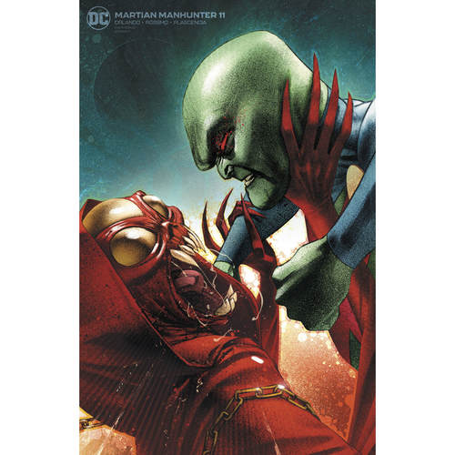 MARTIAN MANHUNTER 11 OF 12 VAR ED