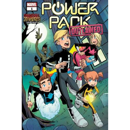 POWER PACK #1 (OF 5) MARTIN MARVEL ZOMBIES VAR