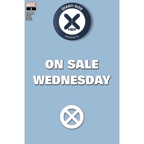 GIANT-SIZE X-MEN MAGNETO #1 MARVEL WEDNESDAY VAR DX