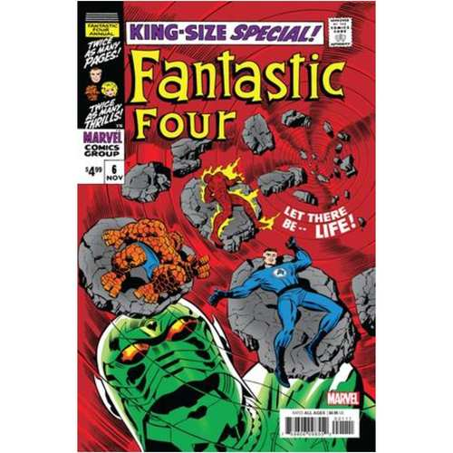 FANTASTIC FOUR ANNUAL 6 FACSIMILE EDITION