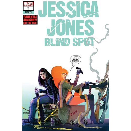 JESSICA JONES BLIND SPOT 3 OF 6 SIMMONDS VAR