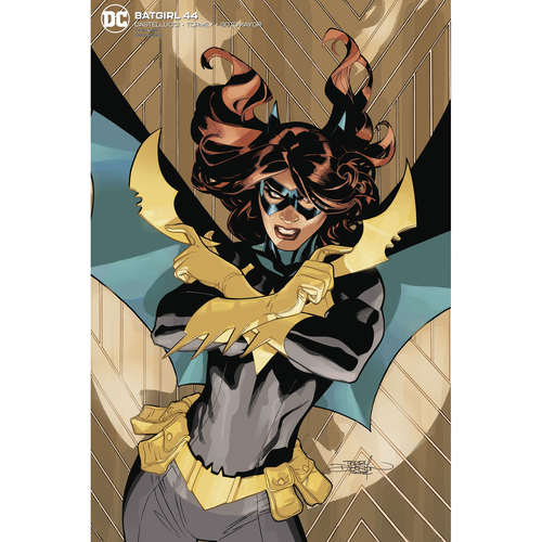 BATGIRL 44 CARD STOCK T AND R DODSON VAR ED