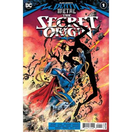 DARK NIGHTS DEATH METAL THE SECRET ORIGIN #1 (ONE SHOT) CVR A IVAN REIS & JOE PRADO