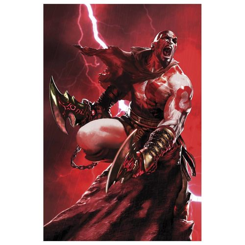 GOD OF WAR FALLEN GOD #4 (OF 4)