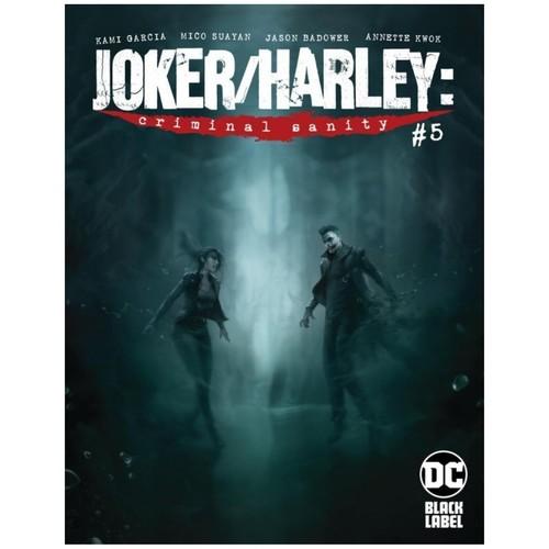 JOKER HARLEY CRIMINAL SANITY #5 (OF 9) CVR A FRANCESCO MATTINA (MR)