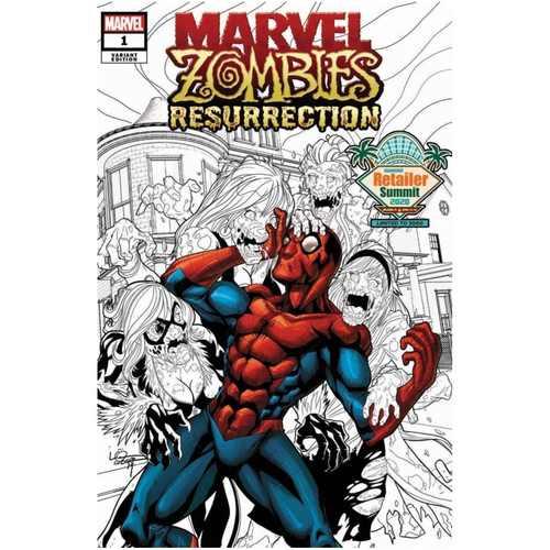 RETAILER SUMMIT 2020 MARVEL ZOMBIES RESURRECTION #1 (OF 4) V