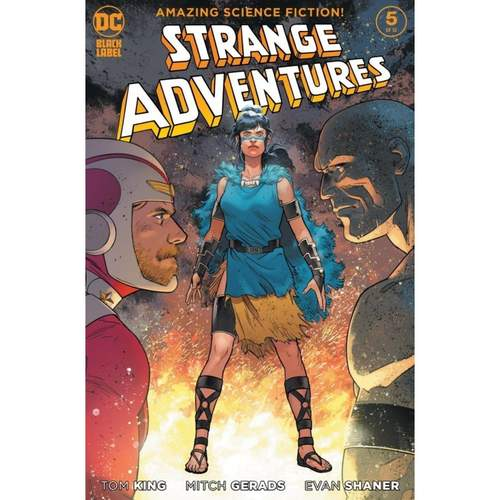 STRANGE ADVENTURES #5 (OF 12) CVR B EVAN DOC SHANER VAR (MR)