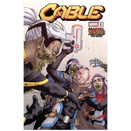 CABLE #2 YARDIN MARVEL ZOMBIES VAR DX
