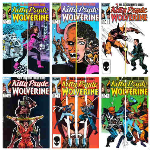 KITTY PRYDE AND WOLVERINE #1-#6 LIMITED SERIES