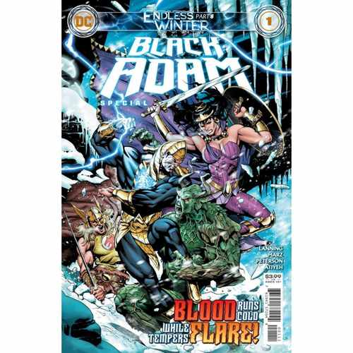 BLACK ADAM ENDLESS WINTER SPECIAL #1 (ONE SHOT) CVR A DALE EAGLESHAM (ENDLESS WINTER)