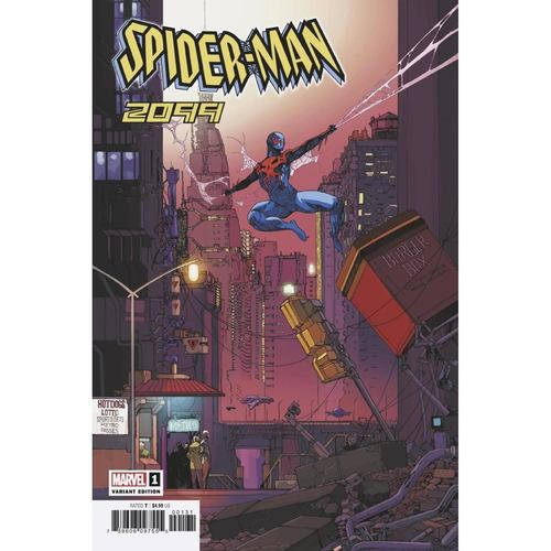 SPIDER-MAN 2099 1 FOREMAN VAR