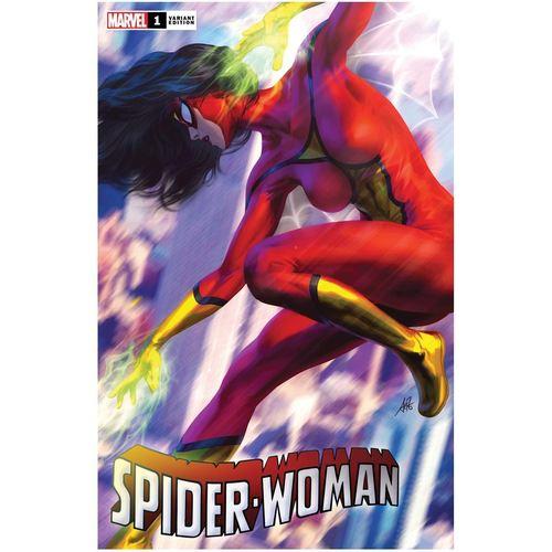 SPIDER-WOMAN 1 ARTGERM VAR