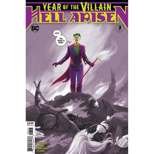 YEAR OF THE VILLAIN HELL ARISEN 3 OF 4 3RD PTG