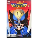 ALL NEW WOLVERINE #1 SIGNED BY TOM TAYLOR