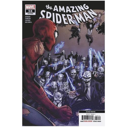 AMAZING SPIDER-MAN #58 2ND PTG VAR