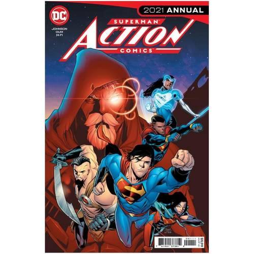 ACTION COMICS 2021 ANNUAL #1 CVR A SCOTT GODLEWSKI
