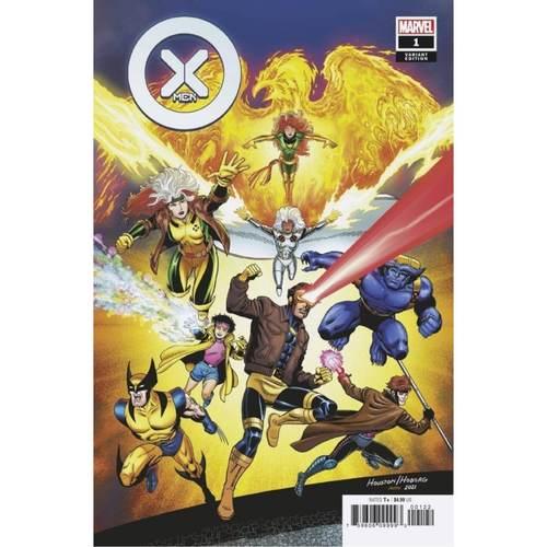 X-MEN #1 HOUSTON X-MEN 90S VAR