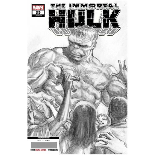 IMMORTAL HULK #35 2ND PTG ALEX ROSS VAR