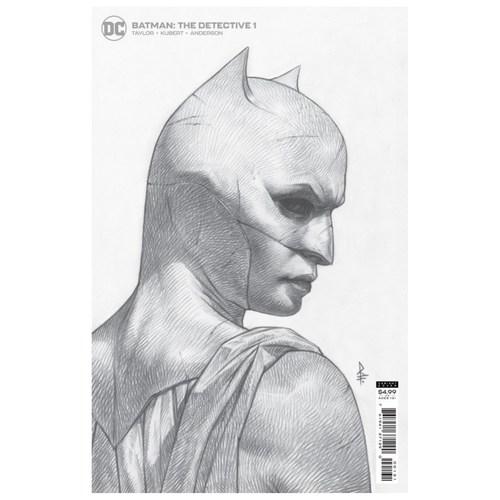 Batman: The Detective #1 1:25 Riccardo Federici Card Stock Variant Edition