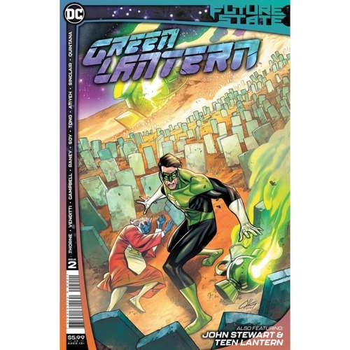 FUTURE STATE GREEN LANTERN #2 (OF 2) CVR A CLAYTON HENRY