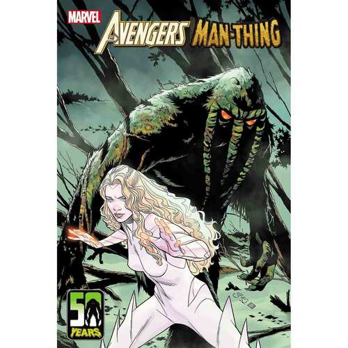 AVENGERS CURSE MAN-THING #1 SPROUSE VAR