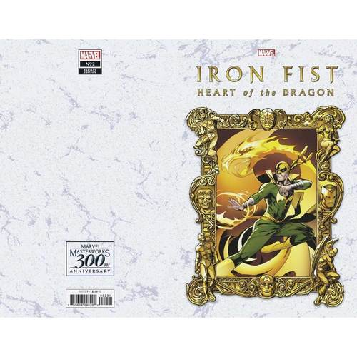 IRON FIST HEART OF DRAGON #2 (OF 6) LUPACCHINO MW VAR
