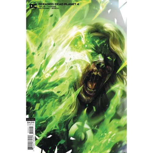 DCEASED DEAD PLANET #4 (OF 7) CVR B FRANCESCO MATTINA CARD STOCK VAR